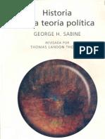 Historia De La Teoria Politica Sabine - ARISTÓTELES