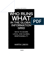 Who Runs What in the Global Information Grid