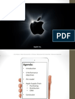 Apple Operations and Supply Chain PPT