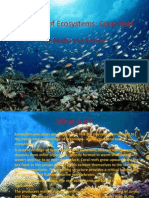 The Value of Ecosystems Coral Reefs