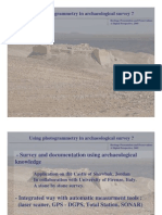 application of photogrammetry in archaeology