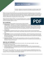 Telemedicine Reference Reimbursement 12 09 Web