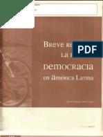 Breve Repaso a La Idea de Democracia