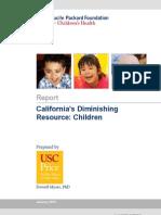 California's Diminishing Resource
