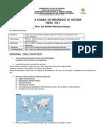 Guía de historia I para examen estandarizado 2013