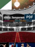 Temporada 2013 Teatro Municipal Stgo