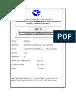 Programa Admon Publica RMF UNESR