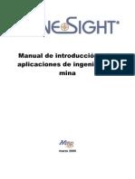 MINESIGHT_Manual De Introducción A Las Aplicación De Ingeniería De Minas