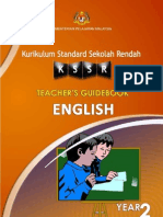 Panduan Guru Bahasa Inggeris Tahun 2