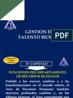 Gestión del Talento Humano Cap IV