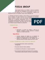 Resumen de Focus Group