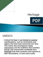 Unit 2 Heritage Tourism