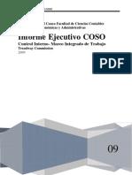 Informe Ejecutivo COSO !