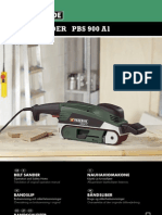 56599_gb Pbs 900 Belt Sander