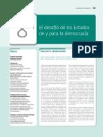 8. Desafios de y Para La Democracia