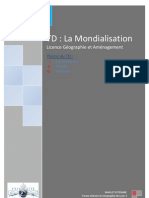 TD 1 La Mondialisation