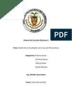 Ecualizador informe completo