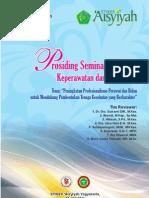 Prosiding Seminar Nasional Keperawatan & Kebidanan