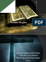 Proclaim His Grace