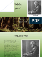 """A Perspective on Robert Frost's """"A Road Not Taken"""""""