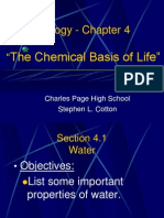 Bio Chapter 4