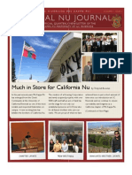 The Cal Nu Journal Fall 2012