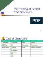 Laboratory Testing of Genital Tract Specimens