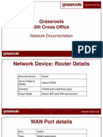 Grassroots 6th Cross Router Config Details