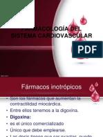 Farmacologia Sistema Cardiovascular, Unidad V