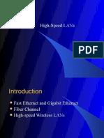 High Speed Lan's