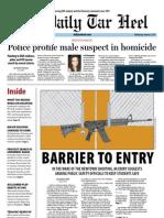 The Daily Tar Heel for January 9, 2013