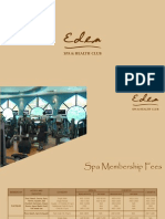Eden Spa Membership