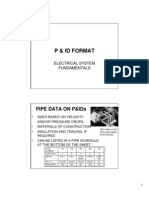 p & Id Format Electrical Fundamentals