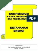 Kompendium Ketahanan Energi
