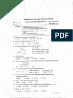 Mathsconceptexamination v 2011 English