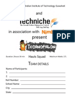 Technothlon 2012 Hauts