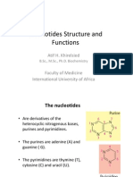 Nucleotides Structure and Function 2013