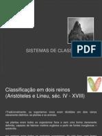 Sistemas de classificação1
