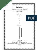 Proposal Mesin Jahit