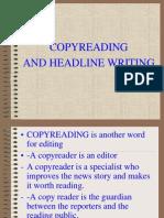 Copyreading and Headline Writing