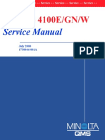 Konica Minolta QMS pagepro 4100 Service Manual