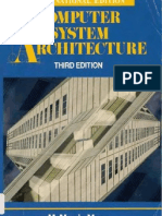 Computer System Architecture by morris mano