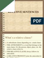 relative sentences
