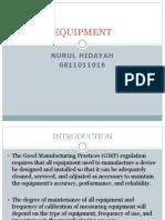 Equipment Nurul