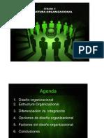diseño estructural y organizacionalç