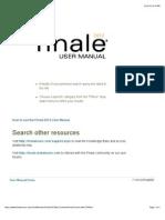 Finale 2010 User Manual