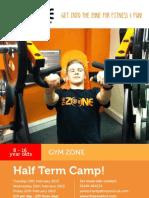Gym Half Term