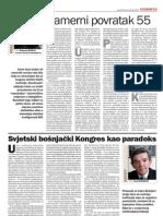 Svjetski bošnjački kongres kao paradoks - dr. Esad Duraković (Oslobođenje, 08. 01. 2013. god.)