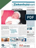 Zorg- en Ziekenhuiskrant, 9 januari 2013