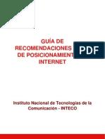 Guia de Recomendaciones SEO de Posicionamiento en Internet